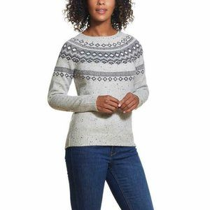 Weatherproof Vintage Ladies' Fairisle Sweater